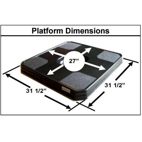 Little Boost Platform 3 Inch High Chair Lift Platform