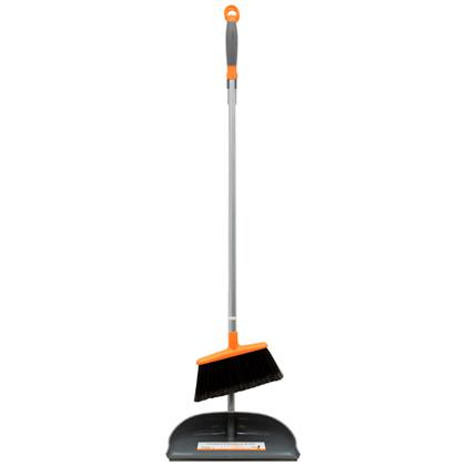 home u003e web specials u003e items u003e long handled dust pan u0026 broom with ergo handle