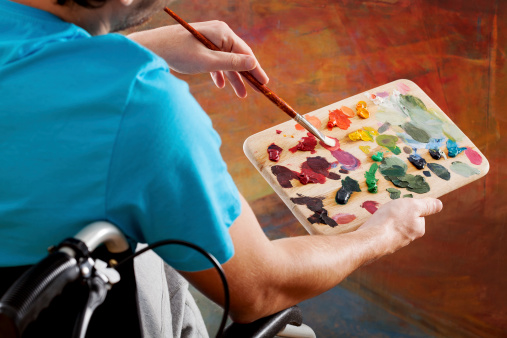 Art thrives in the disability community