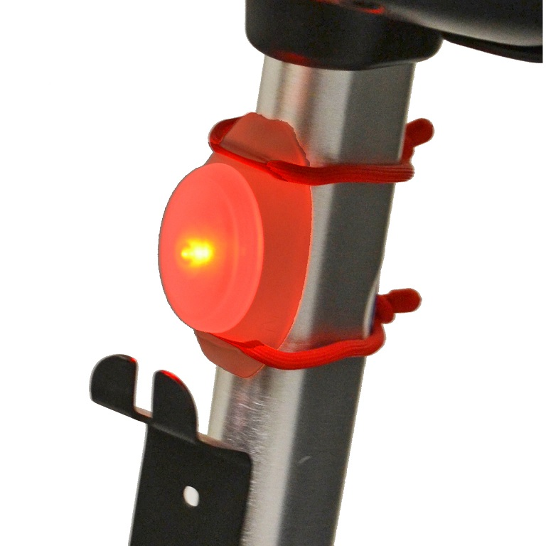 Diestco-Red-Twist-Light-for-Walkers-Wheelchairs-Scooters