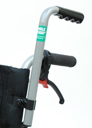 Wheelchair Handle Extenders Add 8 Inch Of Height To Push