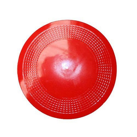 Dycem Red 8 inch Round Non-slip Mat