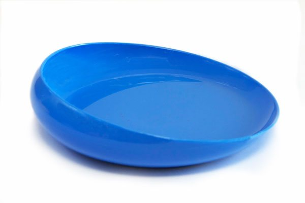 Non Skid Scoopy Scoop Dish :: Blue
