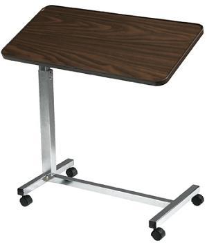 deluxe tilt top over bed table