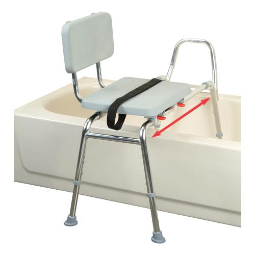 Sliding Transfer Bench with Padded Seat  amp  Back   Discontinued. Eagle Health Supplies  Inc   Durable Home Medical Equipment  Page 2