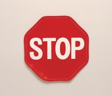 Posey Stop Guard Sign