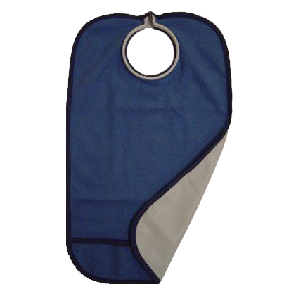 Quick Bib Clothing Protector Navy Blue