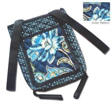 Printed Quilted Crutch Bag - Discontinued