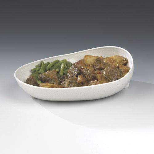 Non-slip Oval Scooper Dish