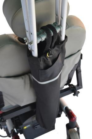 Scooter Crutch Holder