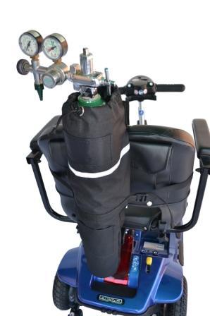 Scooter E Size Oxygen Tank Holder