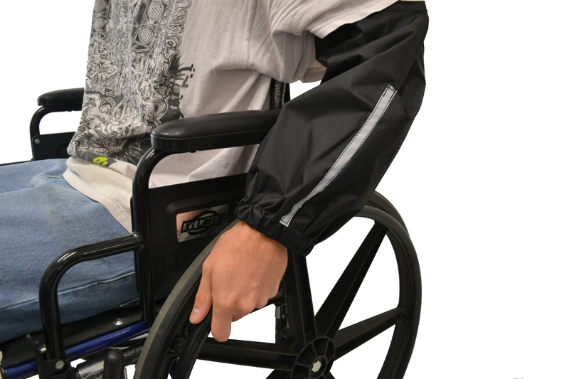 Sleeve Guards for Wheelchair Users