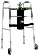 D Size Oxygen Holder for Walkers