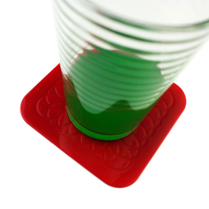 Tenura Square Coasters 4 Pack