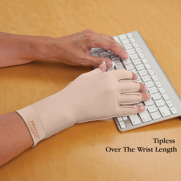 Norco Therapeutic Compression Gloves with Open Fingertips Right Hand