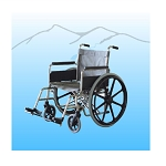 Aqua Creek 18 inch Stainless Steel Pool Wheelchair