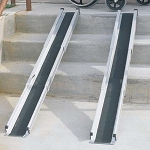 Duro-Med Telescoping Adjustable Wheelchair Ramps 5 Foot