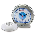 Sonic Boom Analog Alarm Clock with Super Shaker - Discontinued