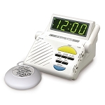 Sonic Boom Combination Alarm Clock with Super Shaker