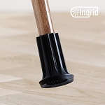 Ingrid Indoor Cane or Crutch Tip - Large Black