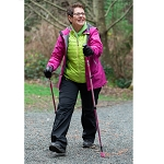 4Life Pink Fitness Walking Poles