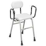 All Purpose Kitchen Stool with Adjustable Arms