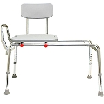 Snap-N-Save Sliding Transfer Bench Extra Long Model