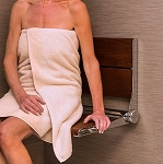 Invisia SerenaSeat 18 inch Fold Away Shower Seat