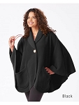 Janska Fleece Pocket Cape