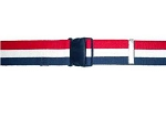 48 inch Economy Gait and Transfer Belt - Patriot Stripe - Quick Release Buckle