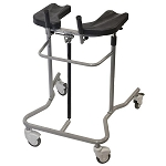 EVA Adult Pneumatic Support Walker Wide