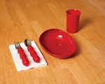 Redware Tableware Basic Dining Set