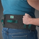 Posey Deluxe Six Handle Gait Belt Quick Release Buckle