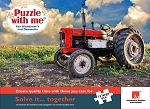 Puzzle with Me 12 Piece New Country Puzzle