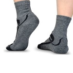 Silipos GeLuscious Moisturizing Gel Socks for Men