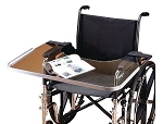 Clear Bariatric Wheelchair Tray