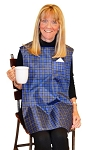 TidyTop Clothes Protector Blue Plaid