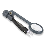 Carson Lighted MagniGrip Tweezers