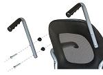 Revo 360 Slim Daily Living Wheelchair Push Handles