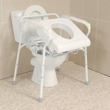 Carex Uplift Commode Assist Self Powered Lifting Seat