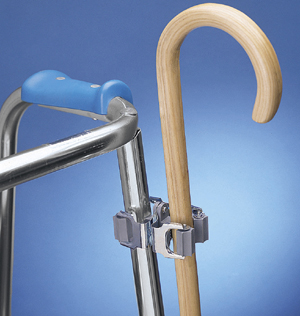 Clip Cane Holder For Walkers And Wheelchairs