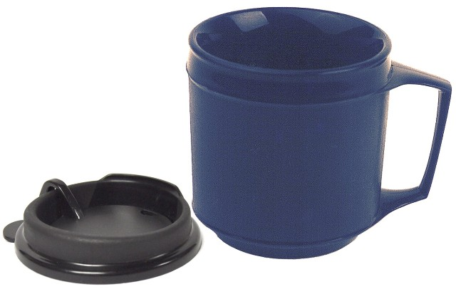 Weighted Insulated Cup with Anti-Splash Lid