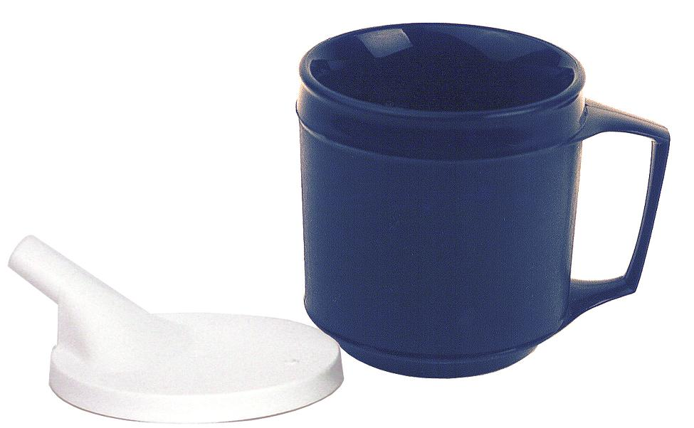 Weighted-Insulated-Cup-with-Spout-Lid