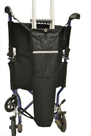Wheelchair Crutch Carrier