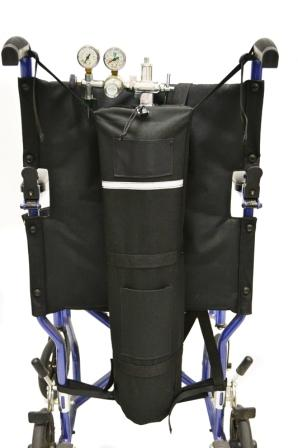 Diestco Wheelchair D Size Oxygen Tank Holder