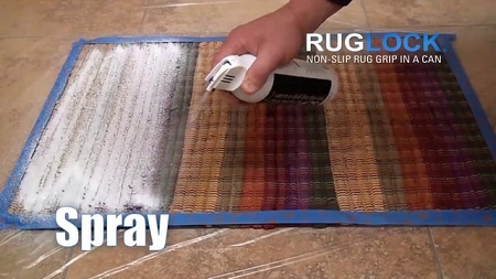 Ruglock Non Slip Spray 16 Oz Stops Rugs From Slipping