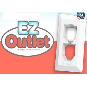 EZ Outlet Adapted Plate Cover