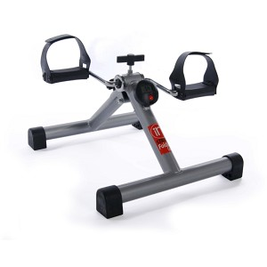Stamina InStride Folding Cycle is a lightweight and portable exercise peddler.