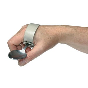 Quadriplegic Palm Clip with Pocket