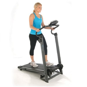 Stamina Avari Magnetic Resistance Treadmill does not require an electric outlet and does note have a motor to maintain so it can be used anywhere.